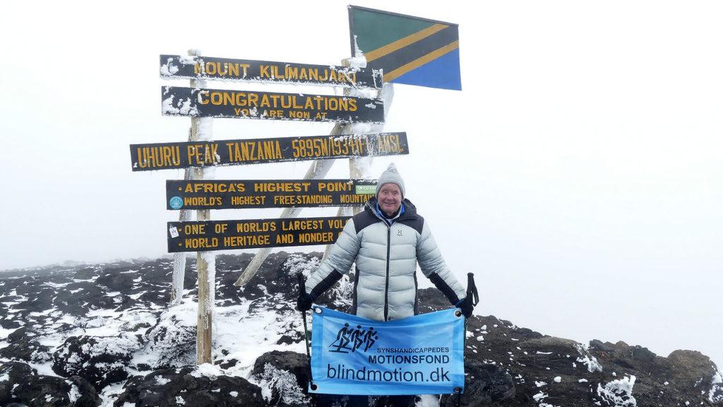 Sven på Kilimanjaro